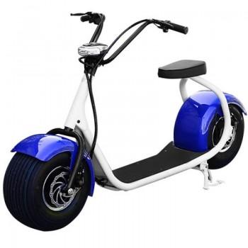 Электроскутер Seev Citycoco Classic 1000W 12Аh 60V Синий