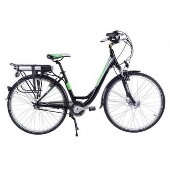 Электровелосипед Eltreco Totem Black Aqua E-City