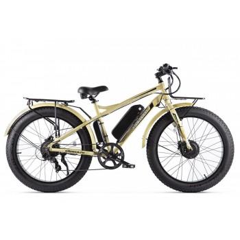 Электровелосипед VOLTECO BIGCAT DUAL NEW Бежевый
